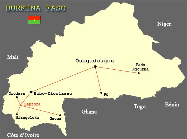 RAKIETA transport en bus de passagers au Burkina Faso